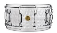 Hammered Chrome Over Brass Snare (13x6in)