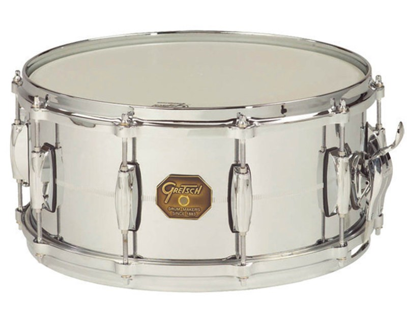Gretsch Chrome Over Brass 14x5in Snare