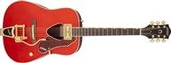 Gretsch G5034TFT Rancher Dreadnought with Fideli'Tron, Bigsby, Savannah Sunset