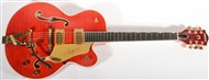 Gretsch G6120TFM Nashville Flame Player's Edition Orange