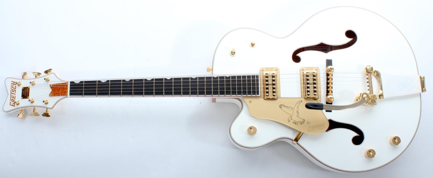 Gretsch G6136TLH White Falcon With Bigsby Left Handed