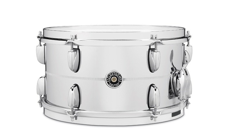 USA Brooklyn 13x7in Chrome Over Steel Snare