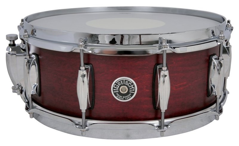 rooklyn 14x5.5in Snare, cherry Red
