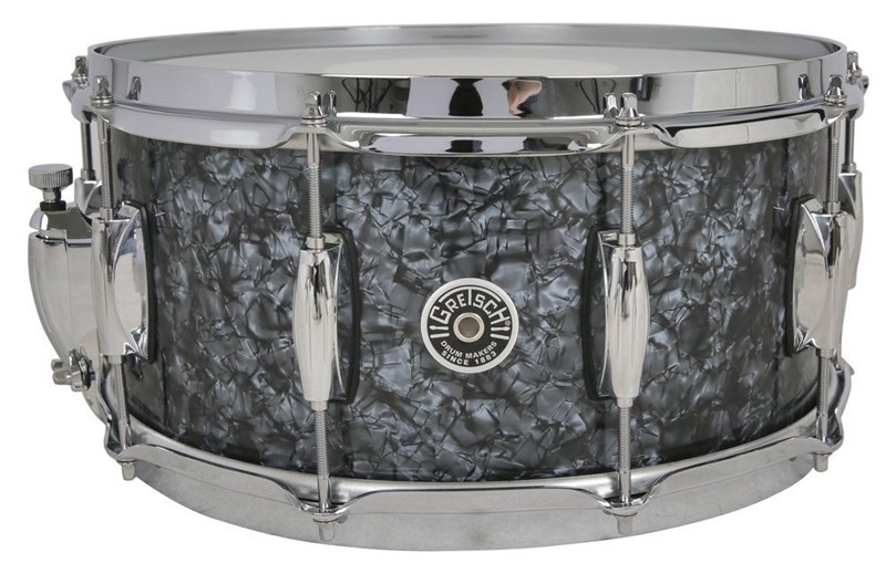 Brooklyn 14x6.5in Snare, deep marine black pearl