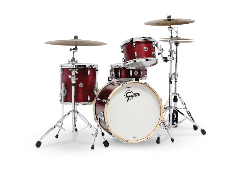 USA Brooklyn 3 Piece Shell Pack (Satin Cherry Red)