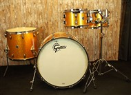 Gretsch GB-E8246 USA Brooklyn 4 Piece Gold Sparkle