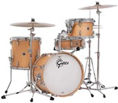 Gretsch GB-R443 USA Brooklyn 3 Piece Shell Pack, Satin Natural