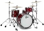 Gretsch GB-J483 USA Brooklyn 3 Piece Shell Pack, Red Oyster