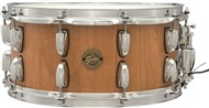 Gretsch S1-6514 Gold Series 14x6.5in Solid Stave Cherry Snare, Natural Satin