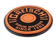 Gretsch Practice Pad (12in, Orange) - GREPAD12O