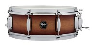 satin tobacco burst snare