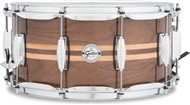 Gretsch S1-6514 Silver Series 14x6.5in Walnut Snare, Gloss Natural