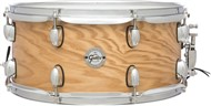 Gretsch S1-6514 Silver Series 14x6.5in Ash Snare, Satin Natural