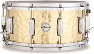 Gretsch S1-6514 Silver Series 14x6.5in Hammered Brass Snare