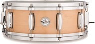 Gretsch S1-0514 Silver Series 14x5in Maple Snare, Gloss Natural