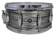 Brooklyn 14x6.5in Snare, grey oyster, main