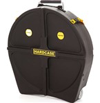 Hardcase Standard 9 Cymbal Case (22in, Black)