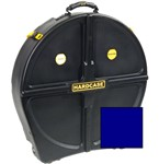 Hardcase Standard 12 Cymbal Case (24in, Dark Blue)