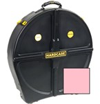 Hardcase Standard 12 Cymbal Case (24in, Pink)