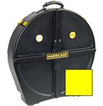 Hardcase Standard 12 Cymbal Case (24in, Yellow)