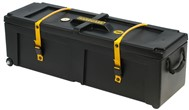 Hardcase Hardware Case with Wheels (40x12x12in, Black)
