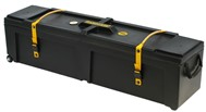 Hardcase Hardware Case with Wheels (48x12x12in, Black)