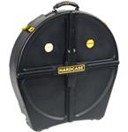 Hardcase Standard 12 Cymbal Case (24in, Black)