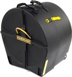 Hardcase Traditional Bass Drum Case with Wheels (28x12in)
