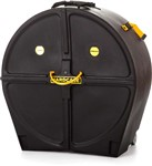 Hardcase Pipe Band Bass Drum Case w/Wheels (28x16in/18in)