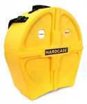 Hardcase piccolo snare case, yellow