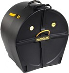 Hardcase Standard 22in Bass Drum Case (Black)