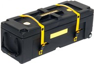 Hardcase Standard 28in Hardware Case (28x10x10in, Yellow)