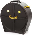 Hardcase Tenor/Double Tenor Drum Case (Black)
