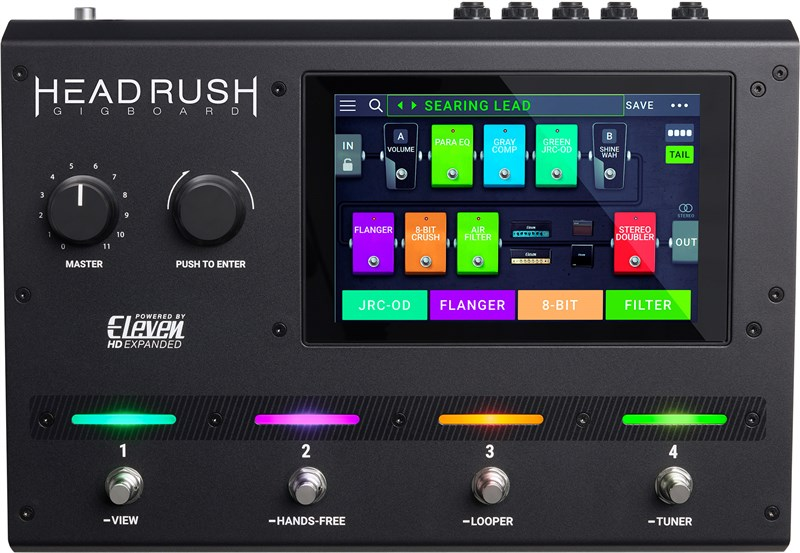 HeadRush Gigboard Processor Pedal