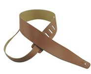 Henry Heller Basic Leather Strap (Tan, HBL25-TAN/TAN)