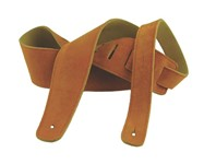 Henry Heller Basic Suede Strap (2.5 Inches, Honey, HBS25-HNY)