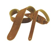 Henry Heller Basic Suede Strap (2.5 Inches, Rust, HBS25-RST)