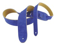 Henry Heller Basic Suede Strap (2 Inches, Blue, HBS2-BLU)