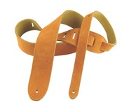 Henry Heller HBS2 Basic Suede Strap, 2in, Honey