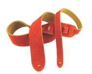 Henry Heller Basic Suede Strap (2 Inches, Orange, HBS2-ORG)