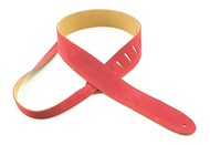 Henry Heller Basic Suede Strap (2 Inches, Red, HBS2-RED)