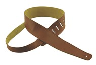 Henry Heller Capri Leather Strap (2.5 Inches, Brown, HCAP25-BRN)