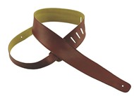 Henry Heller HCAP25 Capri Leather Strap, 2.5in, Oxblood