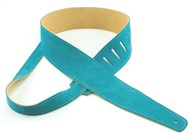 Henry Heller Capri Suede Strap (2.5 Inches, Turquoise, HCS25-TRQ)