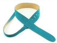 Henry Heller Capri Suede Strap (2 Inches, Turquoise, HCS2-TRQ)