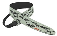 Henry Heller HTB25 Leather Strap with Graphic, 2.5in, Toy Soldiers