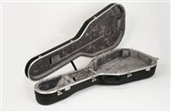 Hiscox PRO-II-GCL Classical Acoustic Hard Case, Medium, Black/Silver