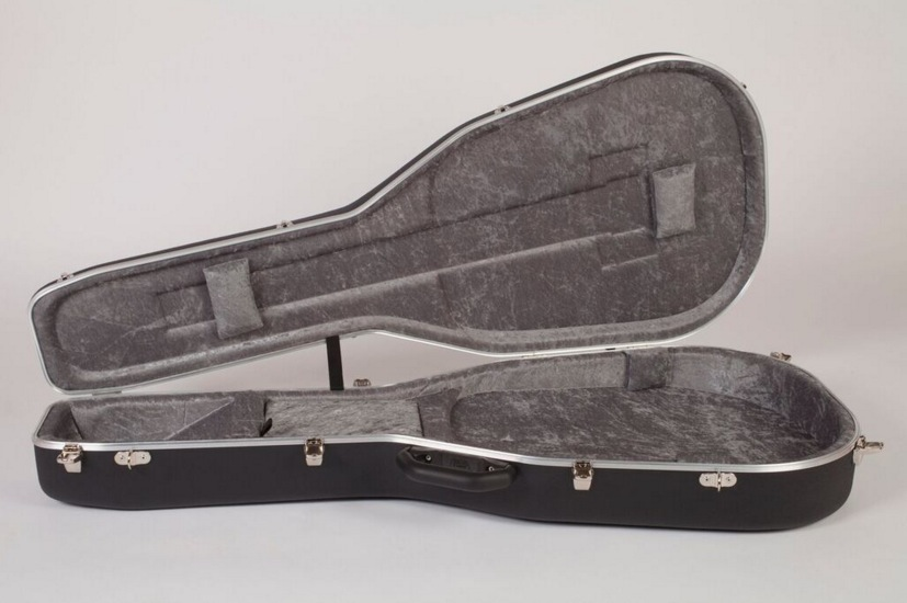 306c5111cf Hiscox PRO-II-GS Semi Acoustic Hard Case, Black/Silver