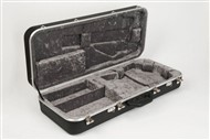Hiscox PRO-II-MAN Mandolin Hard Case, Black/Silver