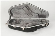 Hiscox PRO-II-WAS Alto Sax Hard Case, Black/Silver